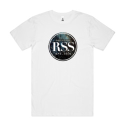 RSS Coloured Texture - Mens Block T shirt