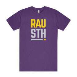 RAU STH - On Dark - Mens Block T shirt