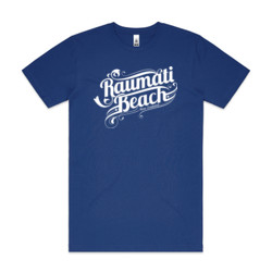 Raumati Bch - Ornate - Mens Block T shirt