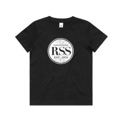 RSS White Circle - Kids Youth T shirt