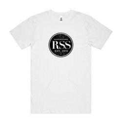 RSS Black Circle - Mens Block T shirt
