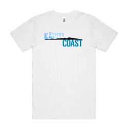Kapiti Coast Island Textured - Mens Block T shirt